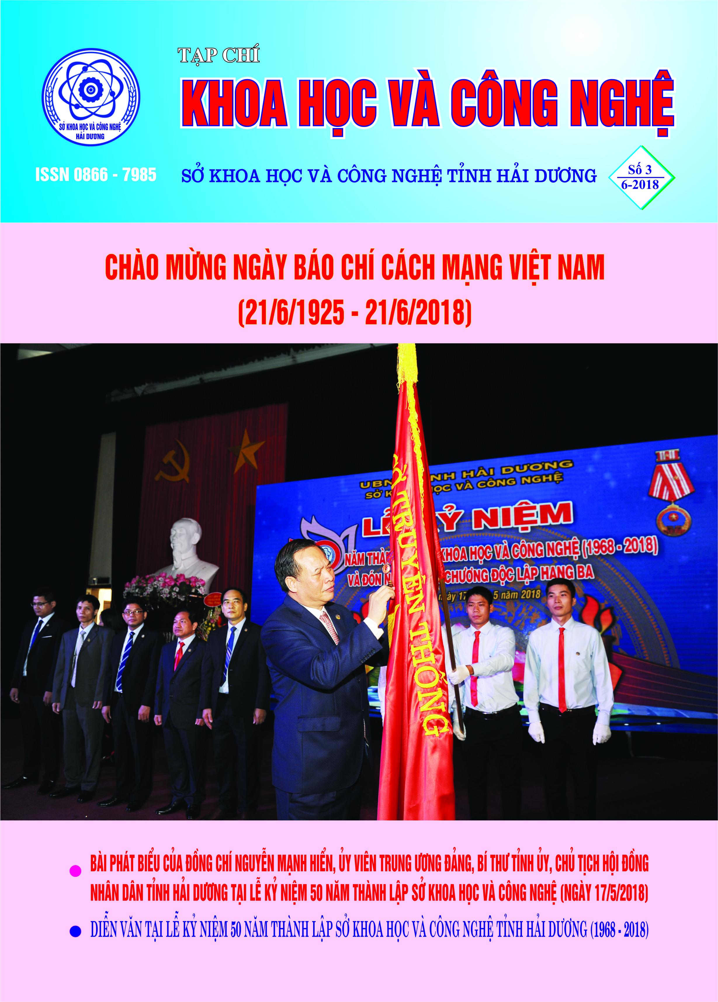 Tạp chí số 3 - 2018